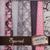 sparrow-paper street designs by paperstreetdesigns