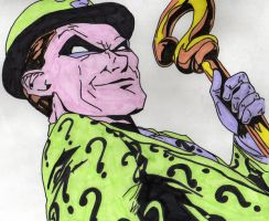 Batman The Riddler by JokerfiedCrane