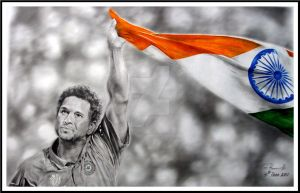 SACHIN TENDULKAR by enigmatic-freak