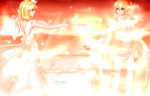 Rin and Len - Last memory by Kristallin-F