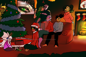 A Gs Christmas  by Skelwolf