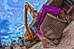 A Digger with a Spinner by atmp