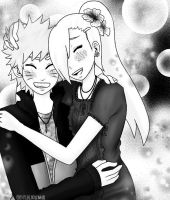 NarutoxIno .:request:. by GinAkuma