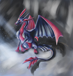 Dragonized Nocturna for TheDragonofDeath by TheParasiticBandaid