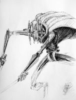 Grievous sketch by JabinQuaken