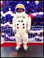 Spaceboy at the mall by surlana