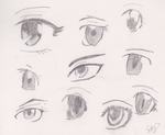 Eyeball practice by SkystepTheMuffin