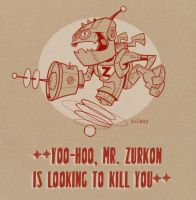 Mr. Zurkon by Kravenous