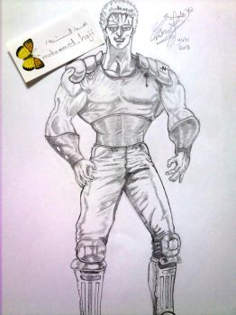 fist of the north star by NoNoyuki