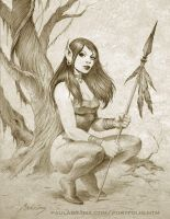 Forest Elf by PaulAbrams