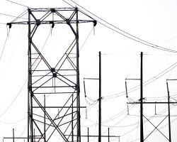 Towering Wires by Ohanzee