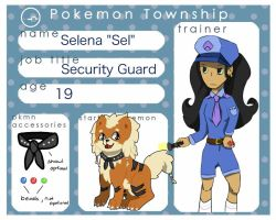 :Pokemon Township: Selena Application by Tea-Queen