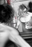 Man in the Mirror by Fishmas