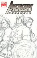 Marvel Avengers Assemble Varient Edition #1 Front by timwann
