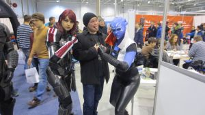 Mass effect cosplay by monobryn47