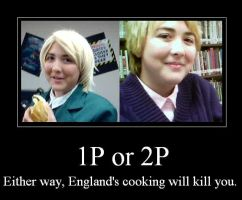 England's cooking Demotivational poster by CaliforniaHunt24
