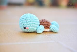 Lazy Squirtle by MissBajoCollection