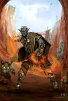 Greetings from Amalur by IcedWingsArt