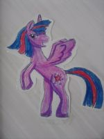 Twilight Sparkle Alicorn by CrazyAngelPony