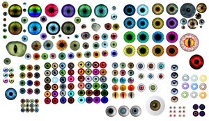 my eyes collection by darkadathea