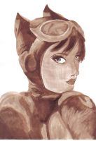Catwoman: Sepia and Vanilla by ccootttt