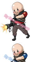 TF2 Stickers: Heavy by roseannepage