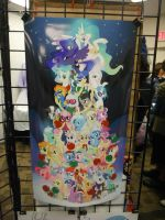 MLP Christmas Tree Picture by DestinyDecade