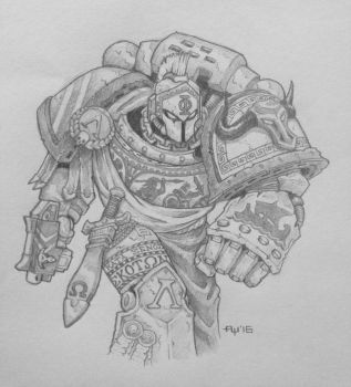 Minotaurs Space Marine Chapter by DeathsheadXIII