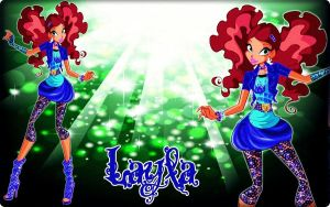 Winx club rock Layla by AlexaSpears1333