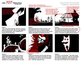 RED - Storyboard Thumbnails by Lapin-de-Fou