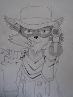 Sly Cooper- Tennessee Kid Cooper by Hidananddeidara