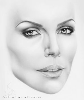 Charlize Theron  by ValeAlbanese