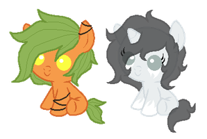 Creepy Pony Adopts by PonyPartyAdopts