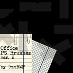 Office PS Brushes ver2 by 9mmBMF