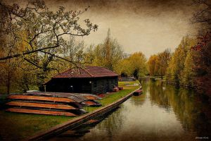 The River Cam by George---Kirk