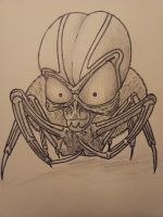 Robo Spider alien thing.. by Raysviper13