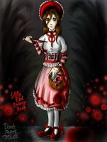 Little Red Lady... by PollWybie