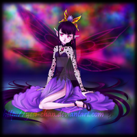 Dark Fairy Princess by yesi-chan