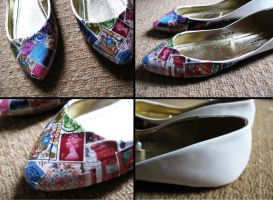 Stamp Shoes by PinkPixieDragon