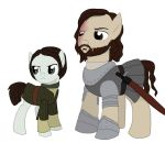 Arya and the Hound by Qemma
