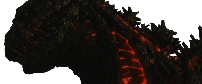 Shin Godzilla Transparent Background by BurningRage15