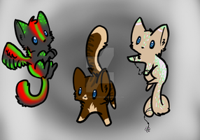 Cat Adoptables Batch 12 (EDIT: CHEAPPPPPPP) by StarCatArtwork