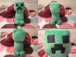 Creeper Plush by Flemmliplush