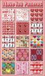 I Love You    Patterns Pat by Tetelle-passion