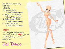 Just Dance - Paid Base Pack by EnchantingRainbow