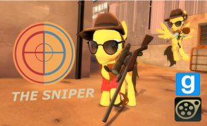 [DL] Sniper Pony by Pika-Robo