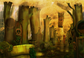 Outrageous Ruins by Goomuin
