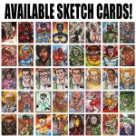 Available Sketch Cards Part 1 by ChrisMcJunkin
