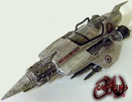Star Wars Stiletto Starfighter by jvcustoms