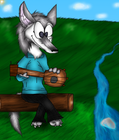 Art Trade - Cindy Wolf by PlagueDogs123